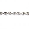 Rhinestone Chain SS14.5 Silver Crystal